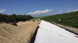 Installation of Liners - Stage 1 Landfill Exp. Project