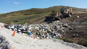 Active Landfill @ New MSE Berm
